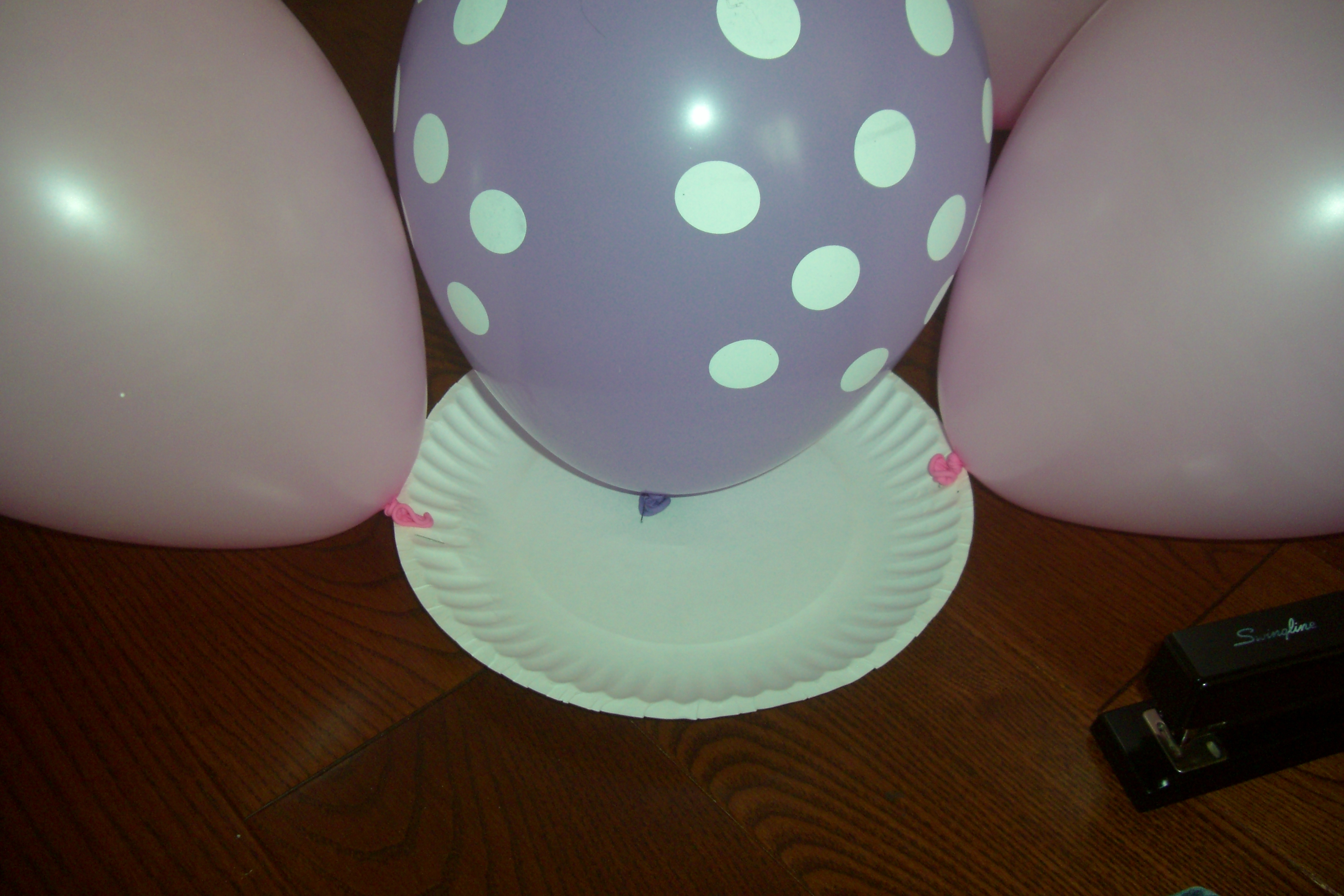Princess birthday party part 6 wall flower balloon decoration cimg1394 amipublicfo Image collections